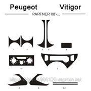Peugeot PARTNER 08' - ... Светлое дерево, темное дерево, темный орех, черный, синий, желтый, красный фото