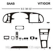 Saab 9-3 98' - 02' Светлое дерево, темное дерево, темный орех, черный, синий, желтый, красный фото
