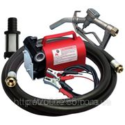 Насос для перекачування і заправки дизельного палива, дуже легкий переносной комплект KIT BATTERY 24В, 40 л/хв фото