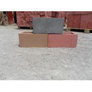Блок сплитерный Блоки пескобетонные фото