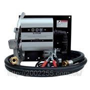 Топливораздаточная колонка заправки дизельного топлива с расходомером WALL TECH 40, 12В, 40 л/мин фото