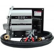 Топливораздаточная колонка WALL TECH- 40 12V 40 л/мин с расходомером для заправки дизельного топлива фото