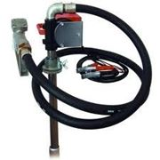 Насос PTP 12V, 40 l/min для раздачи перекачки и заправки дизельного топлива из бочки фото