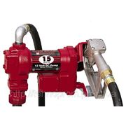Насос Tuthill 12V 55 л/мин для заправки и перекачки бензина и дизельного топлива фото