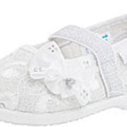 131071-11 серебряный туфли ясельно-малодетские текстиль Р-р 21 фото