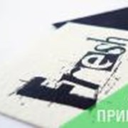 Черно-белые визитки фото