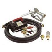 Самовсасывающий насос с пистолетом для перелива дизельного топлива (ДТ) Puisi Battery Kit 3000 12В фото