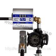 Бочковой насос для дизельного топлива DRUM TECH из счетчиком 60л/мин фото