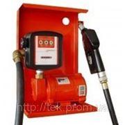 Насос SAG 600 + MG80V, 24В, 45-50 л/мин для заправки, перекачки бензина, керосина, ДТ со счетчиком КИЕВ фото