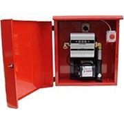 Топливораздаточная колонка для ДТ в металлическом ящике ARMADILLO 100, 220В, 100 л/мин фото