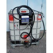 Мобильный заправочный модуль с насосом для дизельного топлива, 640 литров, 12 вольт фото
