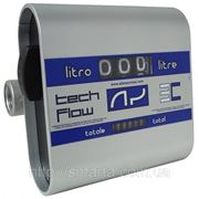 TECH FLOW 3C - Механический счетчик расхода дизельного топлива, Adam Pumps (Италия) фото