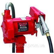 Насос 220В, 75 л/мин для заправки перекачки бензина и дизельного топлива КИЕВ фото