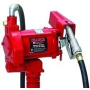Насос для заправки перекачки бензина и дизельного топлива, 220В, 75 л/мин. Насос для бензина фото