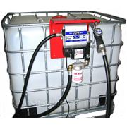 Мини заправка для дизельного топлива, на базе Еврокуба на 1000 литров фото