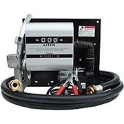 Топливораздаточная колонка заправки дизельного топлива с расходомером 40, 12В, (24) 40 л/мин. ТРК фото