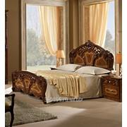 Кровать двуспальная Памела Орех фото
