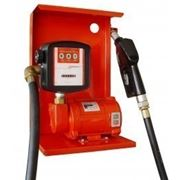 Насос для заправки, перекачки бензина, керосина, ДТ со счетчиком SAG 600 + MG80V 12В 24В 45-50 л/мин фото