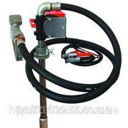 Насос для перекачування і заправки (роздавання) дизельного палива з бочки або бака PTP 12В, 40 л/хв фото