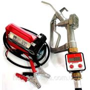 Насос для заправки и учета топлива со счетчиком KIT BATTERIA PLUS фото