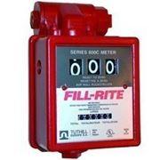 Счетчик расхода бензина, расходомер топлива с фильтром FILL-RITE. Расходомер для бензина. фото
