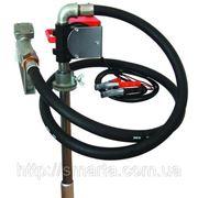 РТР - Бочковой насос для заправки и перекачки дизельного топлива, 24В, 40 л/мин фото