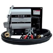 Топливораздаточная колонка заправки и учета расхода дизельного топлива WALL TECH 40, 24В, 40 л/мин фото