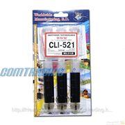 Заправочный набор WWM Canon CLI-521 black 3x20mll (IR3.C11/B) фото