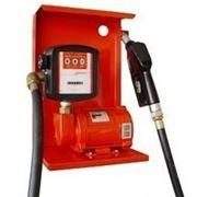 Насос для заправки, перекачки бензина, керосина, ДТ со счетчиком SAG 600 + MG80V, 24В, 45-50 л/мин фото