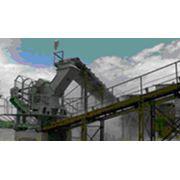 Агрегаты дробления и сортировки Дробилка трехроторная для получения кубовидного щебня ДИМ 800 фото