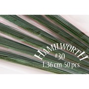 Проволока зеленая &quot-Hamilworth&quot- № 30 фото