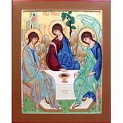 Икона Святая Троица фото