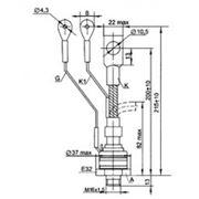 Тиристор ТБ261-160-9 фото