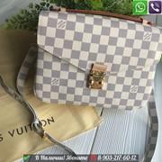 Сумка Клатч Louis Vuitton Metis Pochette Луи Виттон Белый фото