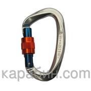 Карабин с ручной блокировкой малый с муфтой (Keylock) Вертикаль фото