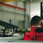 Линии по производству ветряных башен фото