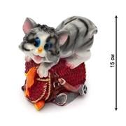 "Копилка ""Котенок на сумке"", 15 см, (MILAND) арт. КС-8312, страна ввоза: РФ фото"