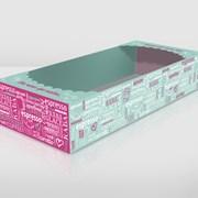 Упаковка картонная для кондитерских изделий фото