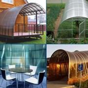 Сотовый поликарбонат от 3 до 10мм , Цветной и прозрачный. Размер 2,1х6м. Арт № 14-01-55 фото