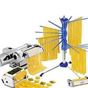 Набор для пасты Marcato Pasta Set Motor (Atlas Motor 150 mm + Acc.Ravioli + Acc.Spaghetti + Tacapasta) фото