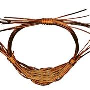 Декор круглый для сухоцветов из бамбука (ф13,5*Н12,5) 61402 фото