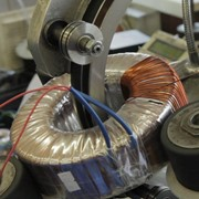 Намотка тороидальных трансформаторов фото