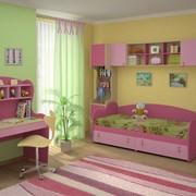 Детская комната *МИА*. Самые нежные, яркие, свежие цвета в новой коллекции удобной и красивой детской мебели * МИА *. troikamebel.by фото