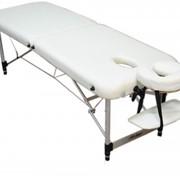 Стол алюминиевый переносной массажный Duralite LG. Складной массажный стол. Раскладная кушетка для косметологии и массажа . Алюминиевая переносная массажная кушетка. Стол для массажа переносной. Чемодан-стол для массажа фото