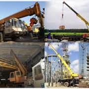 Монтаж строительных машин фото