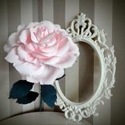 Роза гигант из бумаги фото