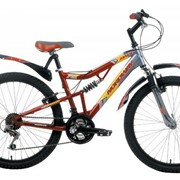 Велосипед горный детский Nordway IMPULSE FS серебристый фото