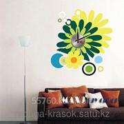 Часы-Наклейки Рразмер 45Х48 СМ фото