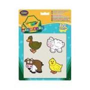 Набор для творчества Crayola стикеры для самых маленьких Животные (12599) фото