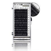 Ресницы Black Lashes изготовлены из синтетического волокна с примесью шелка фото